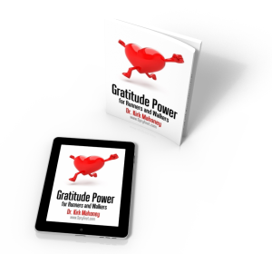 Gratitude Power for Runners and Walkers, in Softcover and Kindle Editions